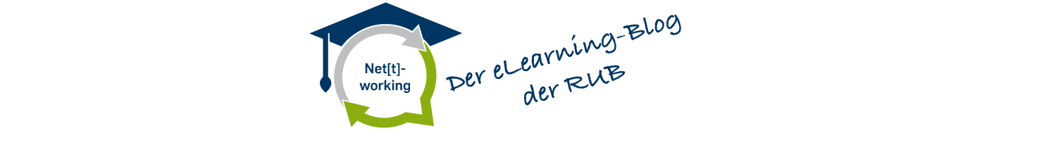 eLearning an der RUB Logo