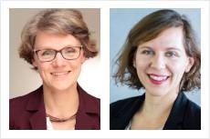 Dr. Judith Ricken und Petra Danielczyk