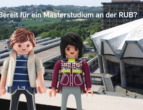 Auf der MasterPlan über passende Masterstudiengänge an der RUB informieren