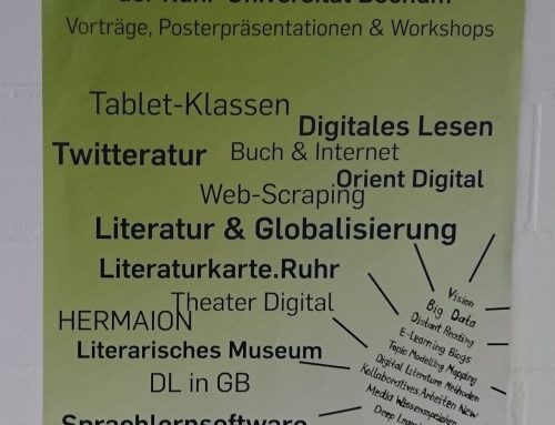 "Ein Rückblick: Der ""Digital Philology Day"" an der RUB – (5. Juni 2019)"