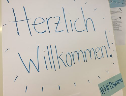 Willkommen bei der HFD Summer School 2019