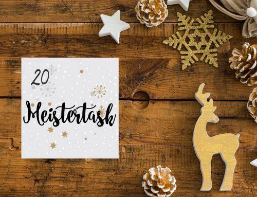 Tür 20 – Meistertask