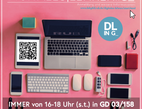 "Digitale Lehre im Austauschforum ""Digitales Lehren in G"""