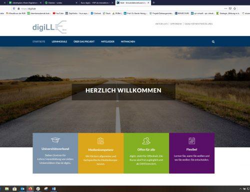 Neues Modul zur Nutzung von H5P in Online-Plattform digiLL
