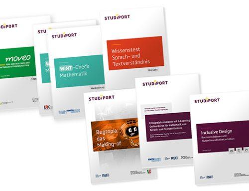 Informieren – inspirieren – orientieren: die Studiport-Publikationen